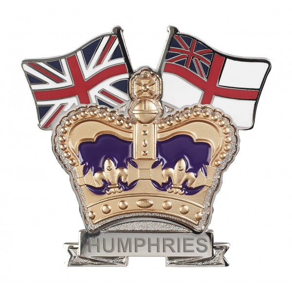 Royal Navy Crown & Country Lapel Badge