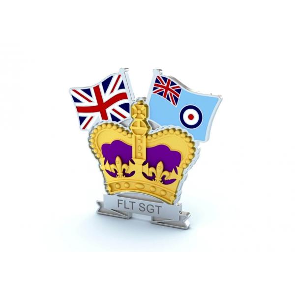 Crown & Country Lapel Badge Royal Air Force
