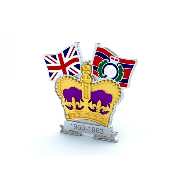 Crown & Country Lapel Badge Royal Engineers