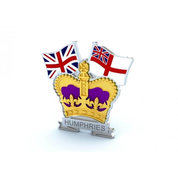 Crown & Country Lapel Badge Royal Navy