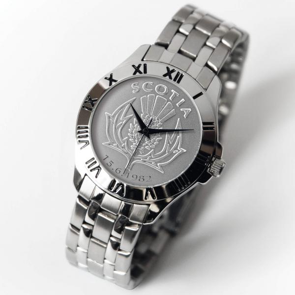 Scottish Patriot Watch Silver Bracelet