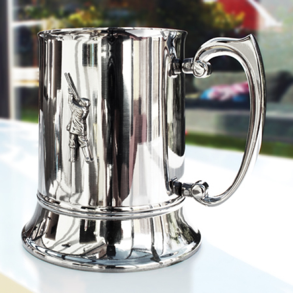 Stainless Steel 16oz Shooting Tankard