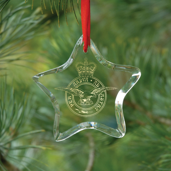 Star Optical Crystal Hanging Decoration