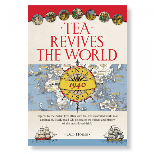 Tea Revives The World Book
