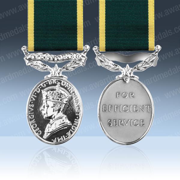 Territorial Efficiency Medal GVIR