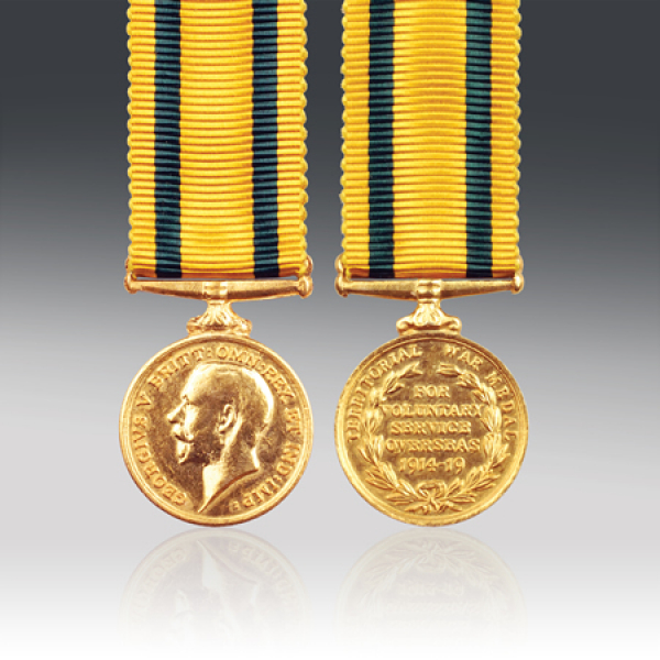 Territorial Force War Miniature Medal