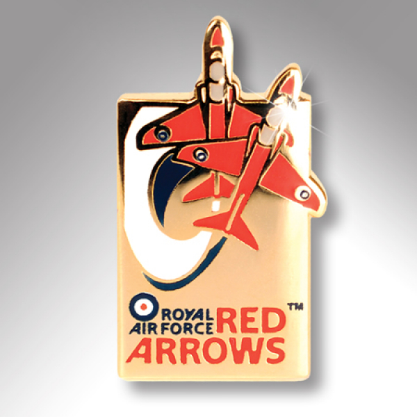 Red Arrows Swoosh Lapel Badge