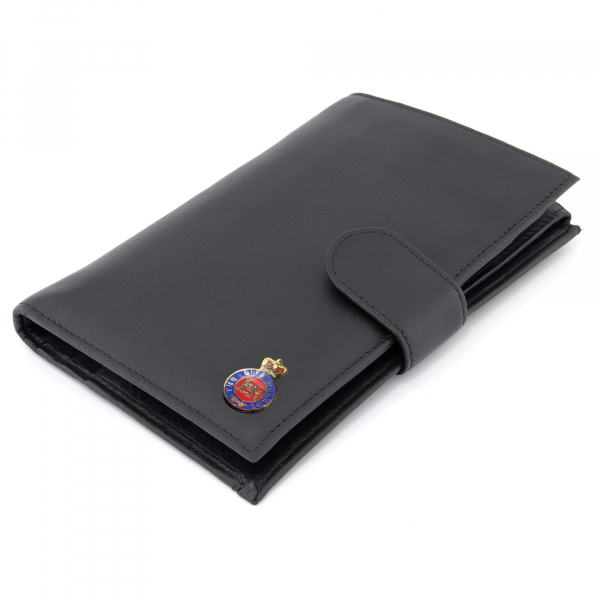Personalised Travel Wallet with Military Badge