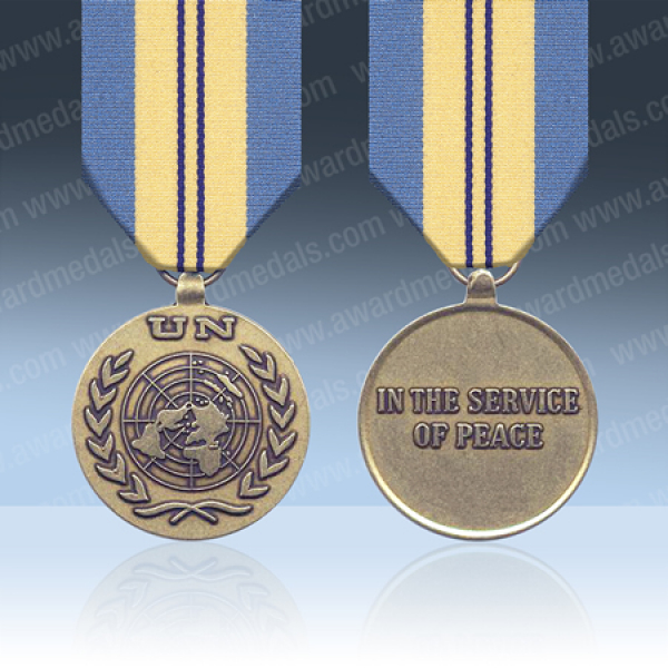 UN Egypt, Irael 1973-79 (UNEF2) Full Size Medal Loose
