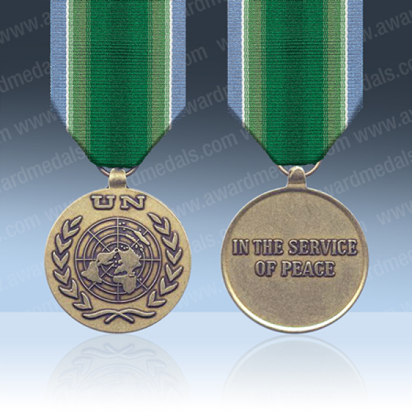 UN India & Pakistan UNMOGIP & UNIPOM Medal