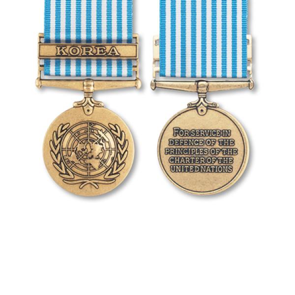 UN Korea Miniature Medal