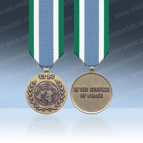 UN Mozambique ONUMOZ Miniature Medal