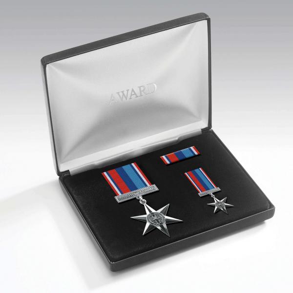 Veterans Star Medal Presentation Set