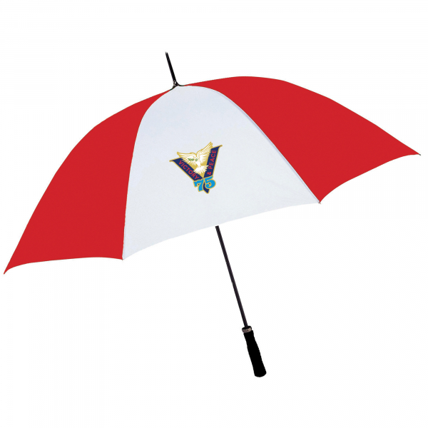 Red/White Victory & Peace 75 Umbrella
