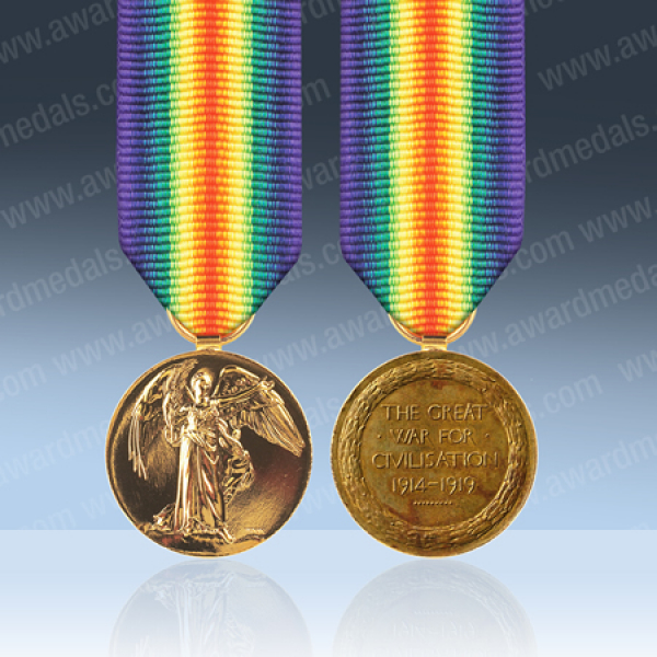 Victory Miniature Medal