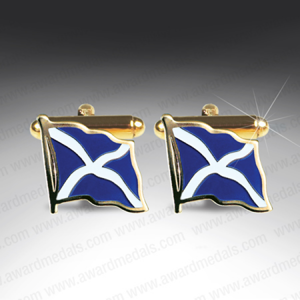 Scottish Saltire Cufflinks