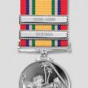 Nickel Finish Medal Clasp 1