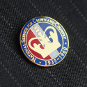 National Service Crown Lapel Badge