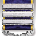 Nickel Finish Medal Clasp 1