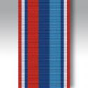 """Veterans Star Full Size Ribbon 6"""" Length"""