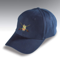 Embroidered Navy Blue Baseball Hat