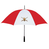 Red & White Personalised Umbrella
