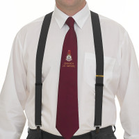 Black Clip-on Braces