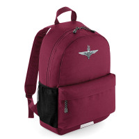 Burgundy Personalised Rucksack