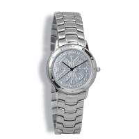 Contemporary Gents, Silver Case, Silver Bracelet, Silver Coin