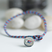 Help for Heroes Button Friendship Bracelet