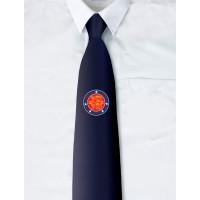 Normandy 75 Navy Blue Personalised Tie