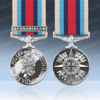 Operational Service Medal Afghanistan with Clasp