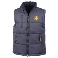 Navy Blue Body Warmer -
