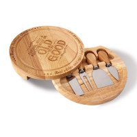 Personalised Cheese Serving Set