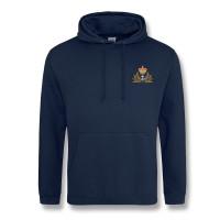 Personalised Navy Blue Hooded Sweatshirt