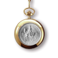 Queen's Coronation Pocket Watch