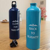 RAF Back to Blighty Metal Water Bottle