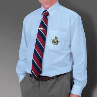 Light Blue Military Long Sleeve Shirt