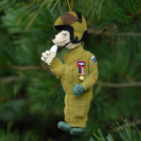 RAF Bear Christmas Decoration
