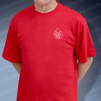Red Military T-Shirt