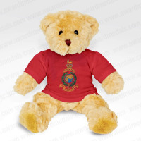 Teddy Bear with Personalised Red T-Shirt