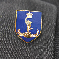 Royal Signals Shield Lapel Pin