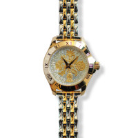Tanner Watch With Two-tone Coin & Bracelet