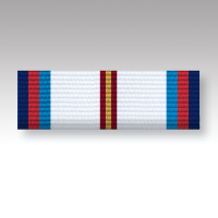Victory & Peace 75th Anniversary Full Size Ribbon Bar