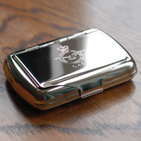 Military Tobacco Tin