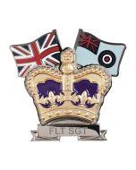 Royal Air Force Crown & Country Lapel Badge