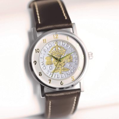 1951 Two-toned Florin With Leather Strap