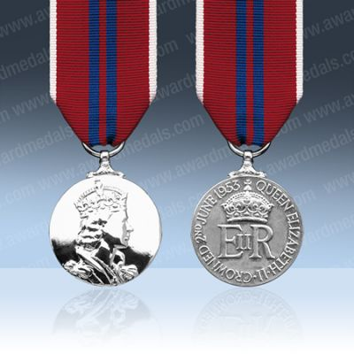Coronation Medal 1953 Full Size Loose (Medal Cannot Be Engraved)