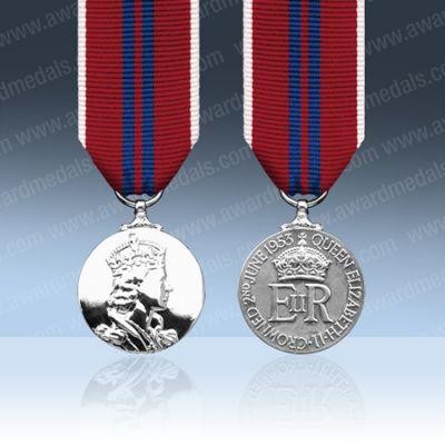 Coronation 1953 Medal Miniature Loose
