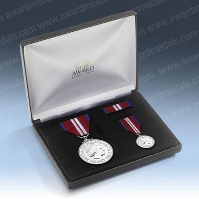 2012 Official Diamond Jubilee Medal Presentation Set